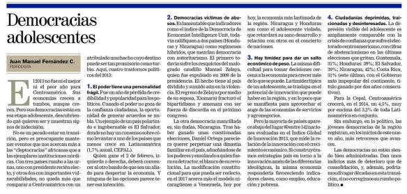 Democracias adolescentes 08-01-2014