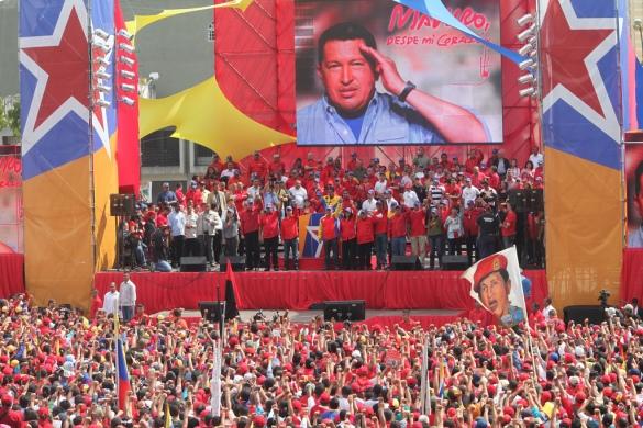 Prensa Miraflores - Flickr Chavez
