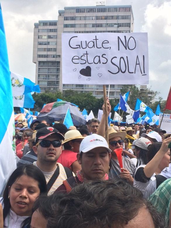 GUATE NO ESTAS SOLA